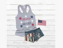 Cool and Fly on the 4th of July - A 4th of July SVG Product Image 2