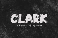 Clark - A Bold Display Font Product Image 1