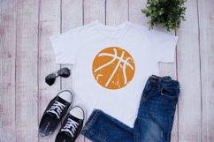 Grunge Basketball Distressed SVG Product Image 2