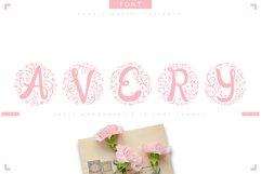 AVERY - sweet monograms font Product Image 1