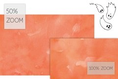 6 Huge Seamless Watercolour Halloween Textures Product Image 2