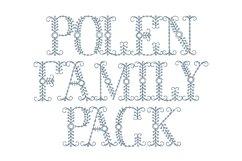 Polen Family Pack (plus a bonus font !) Product Image 1