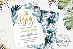 Oh Boy Baby Shower invitation Product Image 1