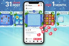 Social media post with a New Year and Christmas games Product Image 3