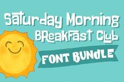 Saturday Morning Breakfast Club Font Bundle Product Image 2