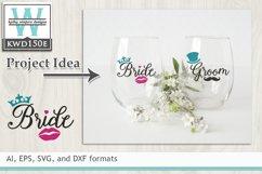 Wedding SVG - Bride Product Image 1
