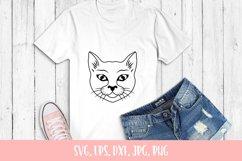 Sweet Cat Svg, Cat Cut File Product Image 2