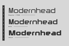 Modernhead Typeface | Font Product Image 2