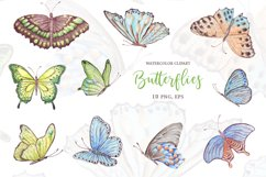 Watercolor butterflies 2 Product Image 2
