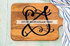 Split Fancy Monogram Trio - Clean & Hand Lettered! Product Image 5