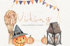 Viking Halloween Font Product Image 1