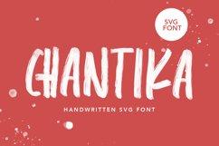 CHANTIKA - Script SVG Fonts Product Image 1