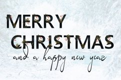 Christmas Eve - font duo SVG and script Product Image 6