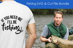 Less Talk More Fishing - SVG and Cut Files for Crafters Product Image 2