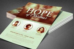 The Hope of Christmas Church Flyer Product Image 5