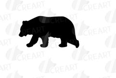 Baby and mama bear nursery clip art collection, bears print Product Image 14