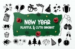 Web Font New Year Dingbats Product Image 1
