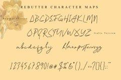 Rebutter // Fashionable Handwritten Font - WEB FONT Product Image 7