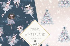 Winter Fairies Patterns Product Image 4
