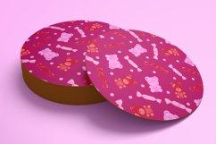 Valentine Patterns   Valentines Digital Papers Bundle Product Image 3