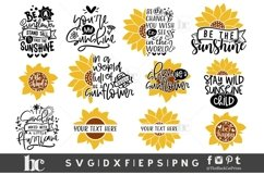 Sunflower SVG Bundle  Sunflower Bundle SVG   Sunflower svg Product Image 5