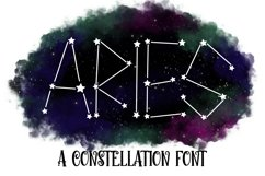 Aries - A Constellation Making Font Product Image 1
