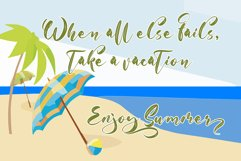 With Summer // Script Font Product Image 3