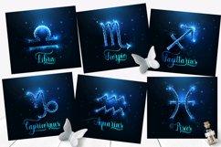 Zodiac signs tumbler sublimation bundle. Full wrap template. Product Image 4