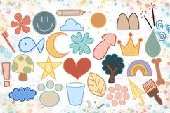 Doodle Procreate brushes, Procreate brushes, doodle stamp Product Image 3