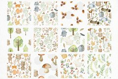 Woodland. Watercolor set. Product Image 5