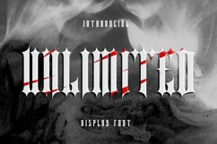 Unlimited Font Product Image 1
