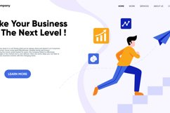 Next Level Business landing page design Product Image 3