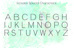 ANGELICA, A Thin Typeface Product Image 3