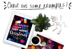 Christmas lights: lettering + more! Product Image 7