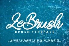 ZeBrush   Brush Script Font Product Image 1