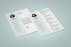 Modern and Minimalist Resume Template CV Vol.2 Product Image 1