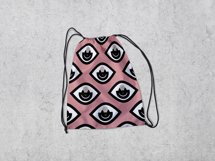5 Seamless patterns set with different eyes Product Image 2
