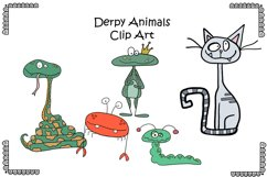 Funny Animal Clipart Product Image 1