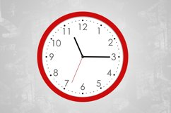 Wall Clock Mockup (Round) Product Image 3