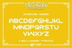 KHAIRA TYPEFACE Product Image 5