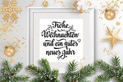 Frohe Weihnachten Deutschland Christmas svg Around the World Product Image 6