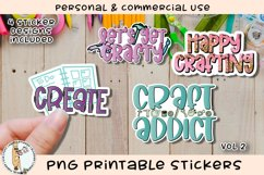 Crafters Crafty Stickers Vol 2 Printable PNG Product Image 1