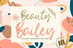 Beauty Bailey - A Beauty Handwritten Font Product Image 1