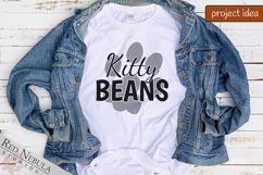 Kitty Beans   Cat Pawprint SVG / Sublimation for Cat Lovers Product Image 3