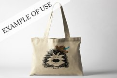Hedgehog with hat. JPG, PNG, EPS Product Image 3