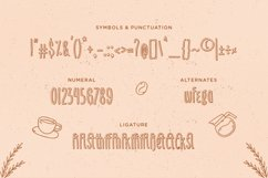 Sunday Coffee - Rounded Outline Typeface Product Image 6