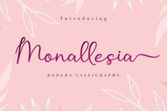 Monallesia Script Product Image 1