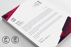 Modern Letterhead Pad Template With Word Apple Pages Format Product Image 2