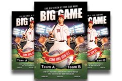 Baseball Flyer Template Product Image 1