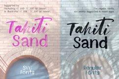 Tahiti Sand. Fonts and Graphics. Product Image 3
